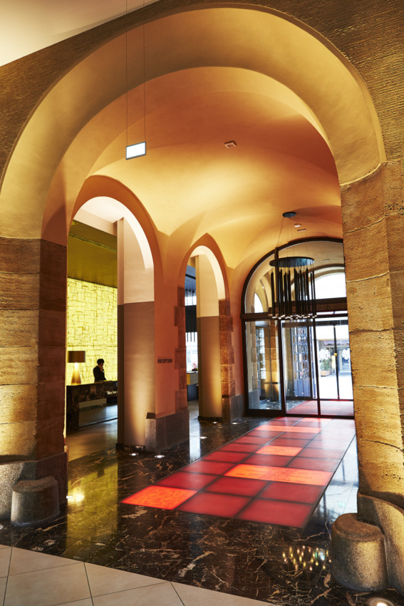 Grandhotel Handelshof, Leipzig, Rezeption, Foto (c) Steigenberger Hotels