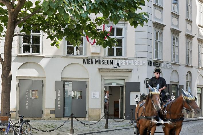Uhrenmuseum Aussenansicht Foto 01 Hertha Hurnaus (c) Wien Museum
