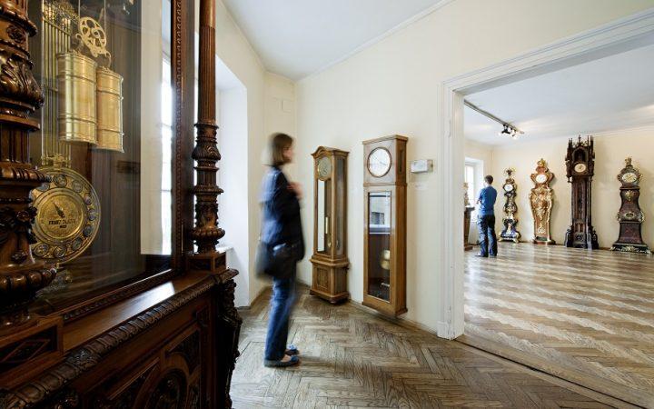 Uhrenmuseum Innenansicht, Foto (c) Hertha Hurnaus, Wien Museum