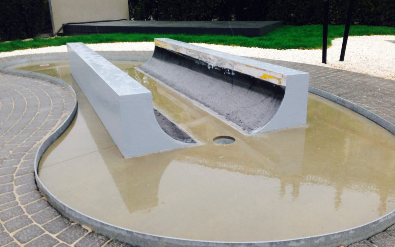 Skulpturenpark Amore Museumsquartier, Minigolf vor dem MQ! Foto (c) Andrea Pickl -kekinwien.at