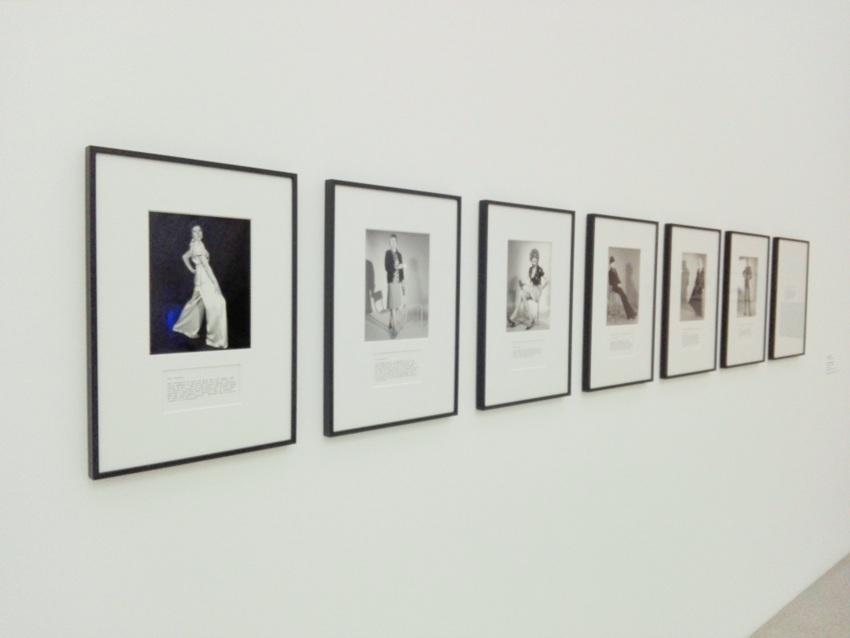 'A Portfolio of Models', Martha Wilson, 1974 und 2009, Foto (c) Claudia Busser - kekinwien.at