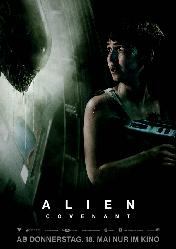 Alien Covenant Poster © 2017 Twentieth Century Fox