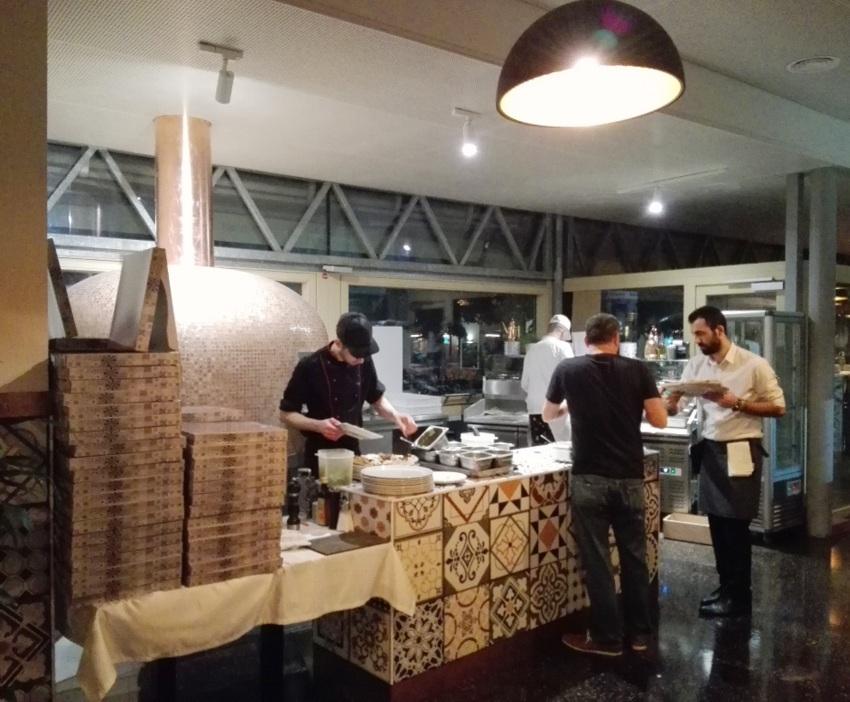 Das Allerheiligste in der Pizzeria Sofi Vera, Foto (c) Claudia Busser - kekinwien.at