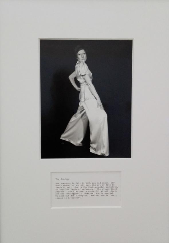 The Goddess, Detail aus 'A Portfolio of Models', Martha Wilson, 1974 und 2009, Foto (c) Claudia Busser - kekinwien.at