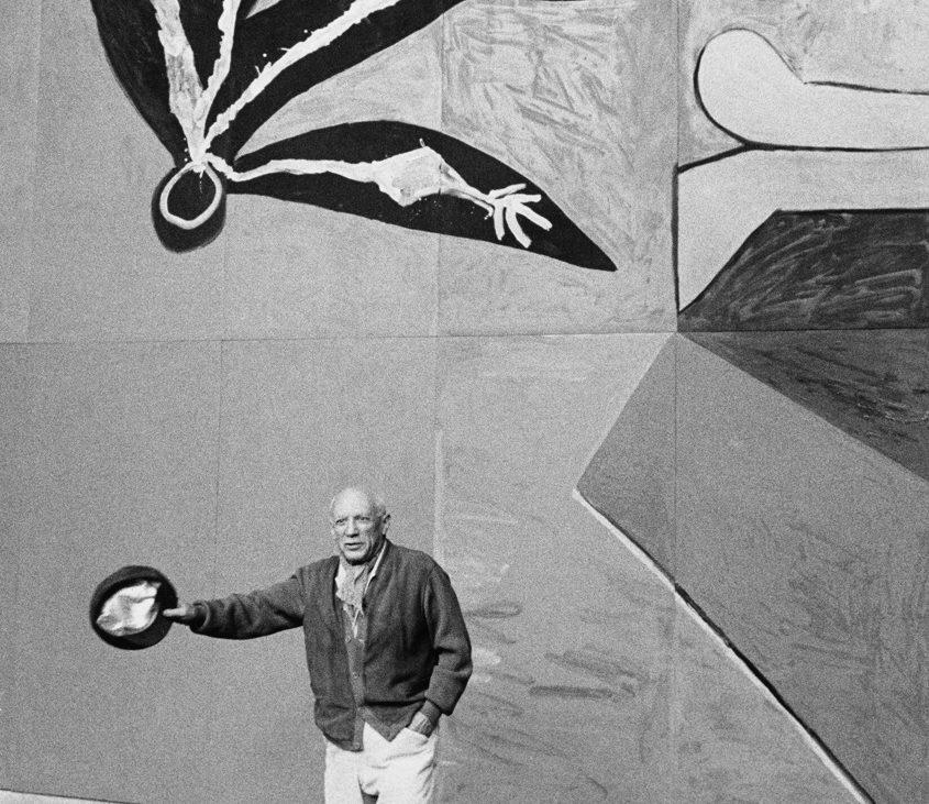 Foto Inge Morath, Pablo Picasso, Vallauris, Frankreich, 1958 (c) The Inge Morath Foundation, Magnum Photos, Fotohof Archive