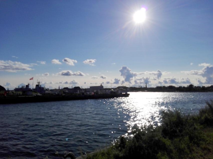 Blick vom Amass in die Abendsonne, Bild (c) Andrea Pickl - kekinwien.at