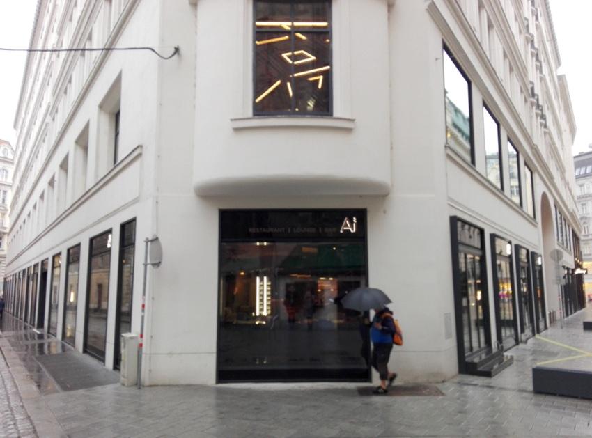 Blick vom Uhrenmuseum kommend, rechts wird der Schanigarten entstehen, Bild (c) Claudia Busser - kekinwien.at