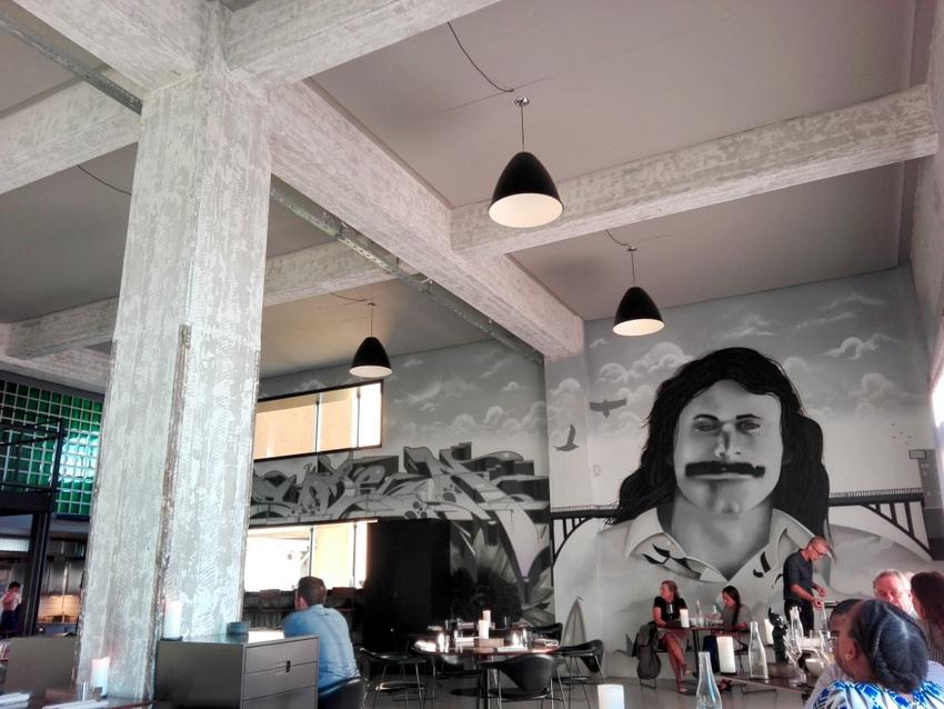 Interieur im Amass, dazu Musik wie aus dem Ghettoblaster, nur nicht so laut, Bild (c) Andrea Pickl - keinwien.at