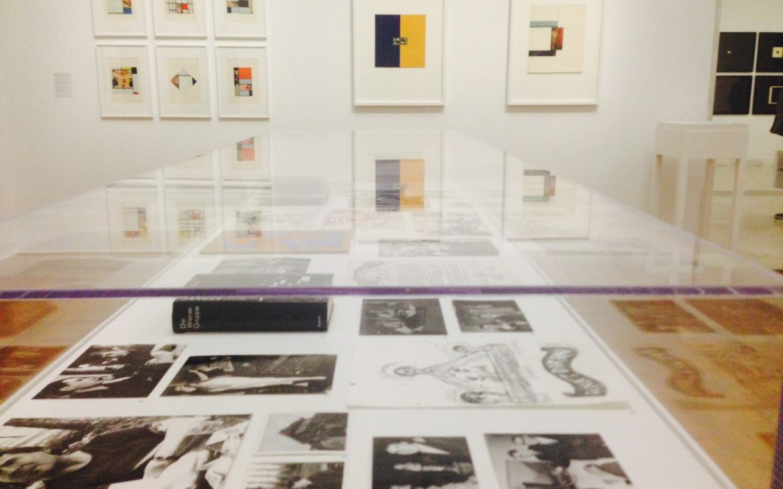 Gerhard Rühm, Retrospektive, Kunstforum Bank Austria Wien, Foto (c) Andrea Pickl - kekinwien.at