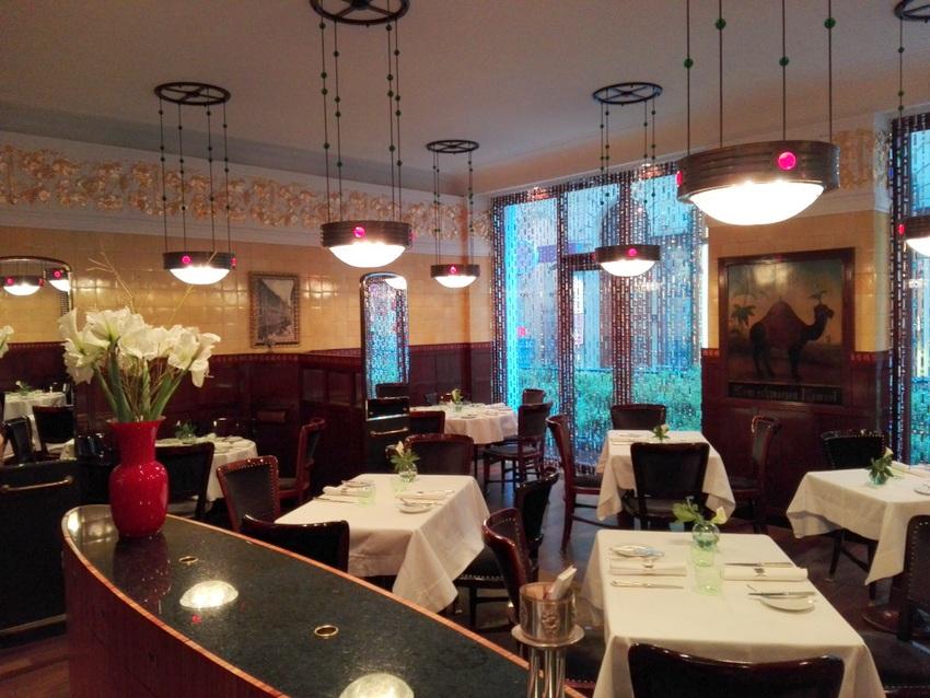 Besonders das Restaurant erfreut das Auge, Zum schwarzen Kameel, Bild (c ) kekinwien.at