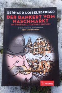 Der Bankert vom Nachmarkt, Buchcover, sehr passend im Schnee ... Bild (c) Alexandra Wögerbauer - Flicker - kekinwien.at