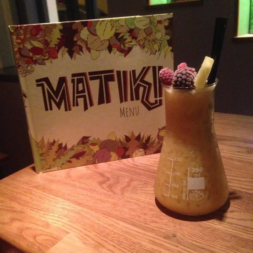 Ein Tiki Drink in einer Tiki Bar, der ersten in Wien, Bild (c) Matiki Bar