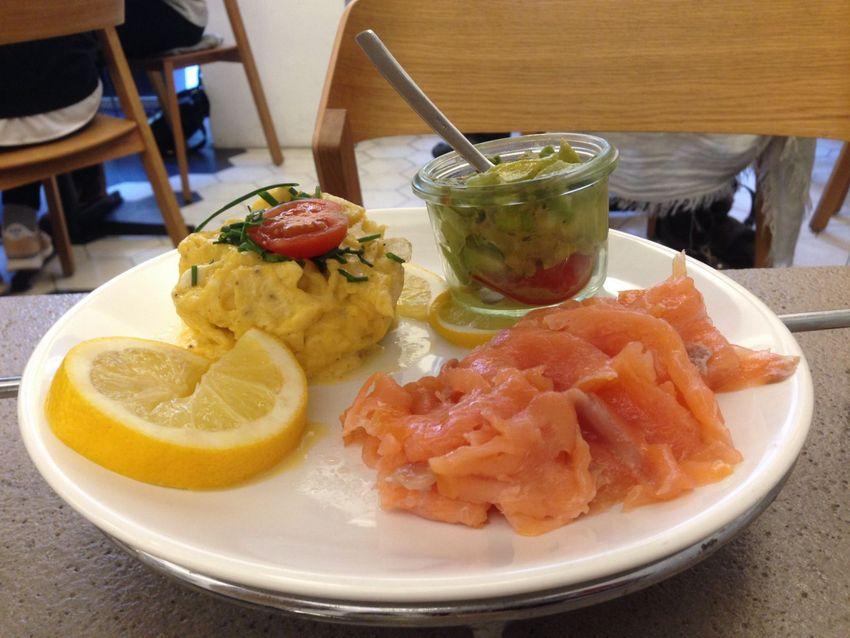 unterstes Stockwerk der Etagere des exklusiven Frühstücks im Strudls, Bild (c) Andrea Pickl - kekinwien.at
