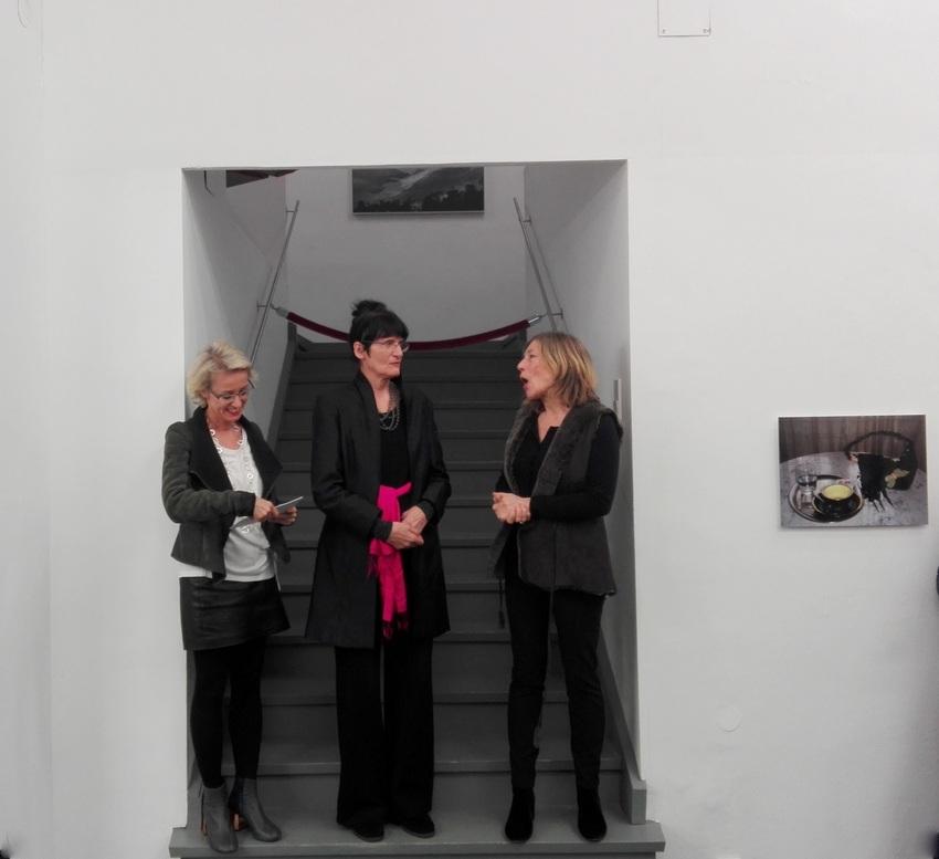 von links nach rechts, Gabriele Schor, Renate Bertlmann, Silvia Steinek, Bild (c) Claudia Busser - kekinwien.at