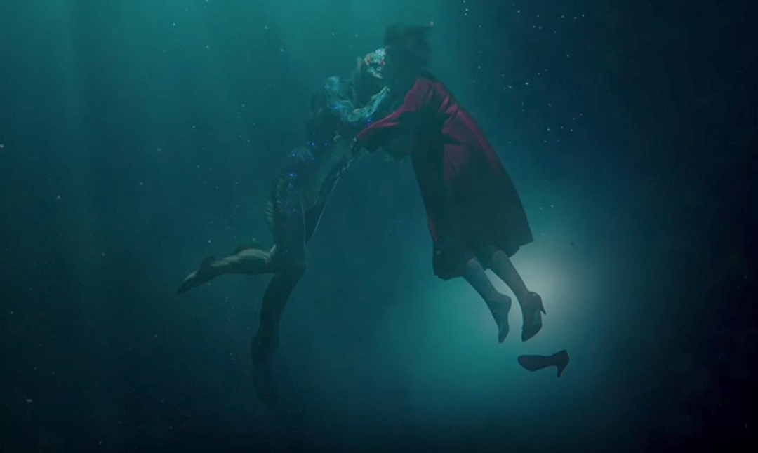The Shape of Water, Filmplakat