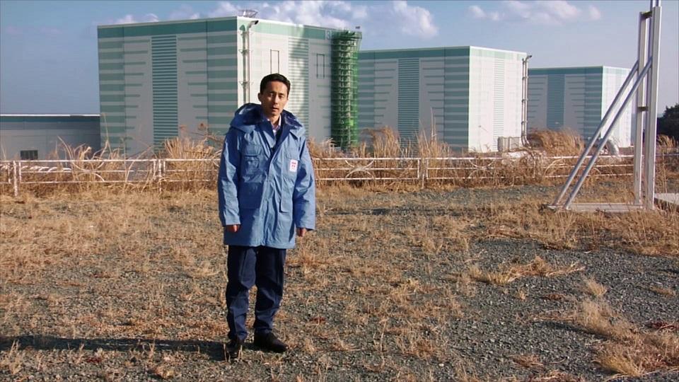 Furusato, Filmstill, ein Japaner lobt die schöne Farbe des Atomkraftwerks Fukushima, Foto (c) imagefilmagentur