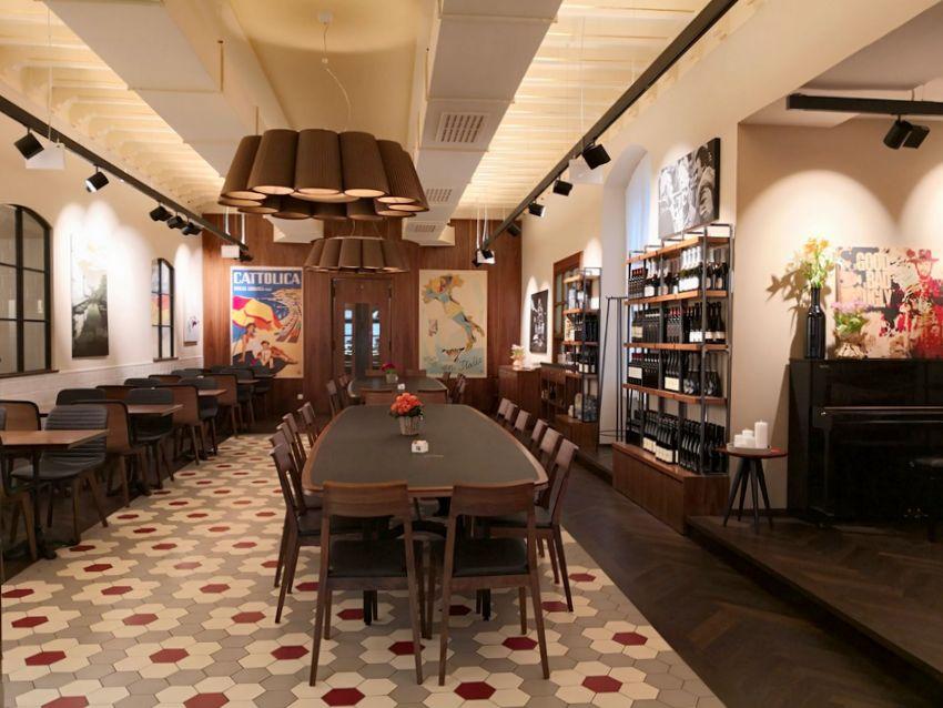 Ferrari Caffè, Interieur, Bild (c) Andrea Pickl - kekinwien.at