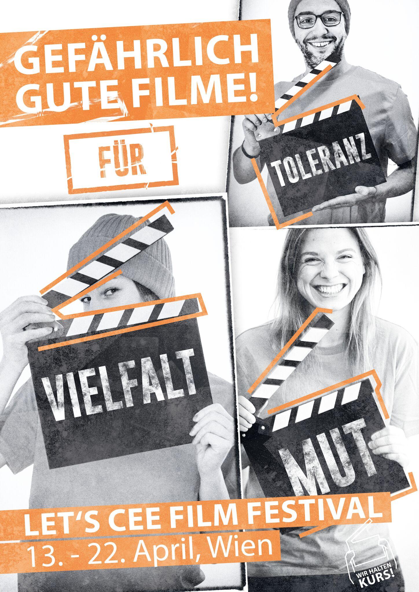 Poster des LET'S CEE Film Festival, letscee2018 (c) LET'S CEE