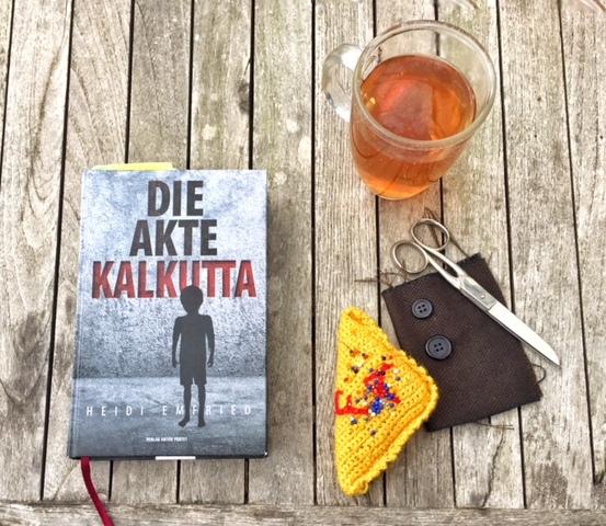 Die Akte Kalkutta, Heidi Emfried, Collage zum Roman, Bild (c) Alexandra Wögerbauer-Flicker - kekinwien.at