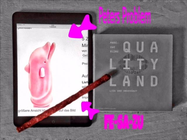 Qualityland, Collage zum neuen Roman von Marc-Uwe Kling, Bild (c) Alexandra Wögerbauer-Flicker - kekinwien.at