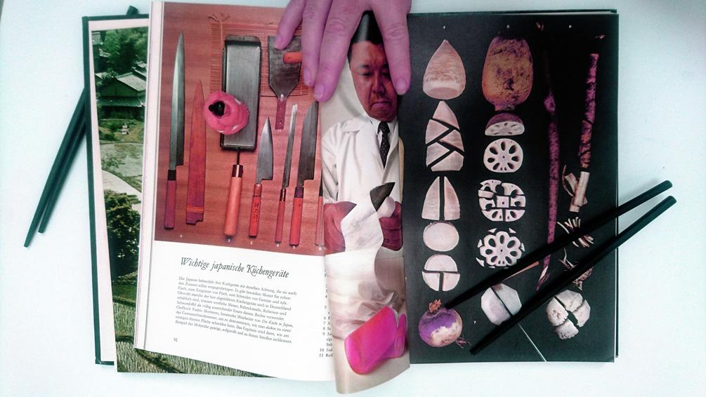 Die Liebe zur Japanischen Küche begann mit diesem 'Time Life' Kochbuch, Bild (c) Mischa Reska - kekinwien.at
