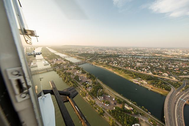 Luftaufnahme Donauinsel (c) Alex Müller