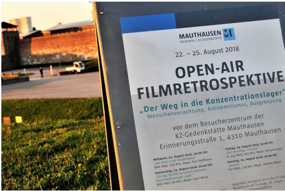 Open Air Filmretrospektive Mauthausen Foto (c) Gedenkstätte Mauthausen