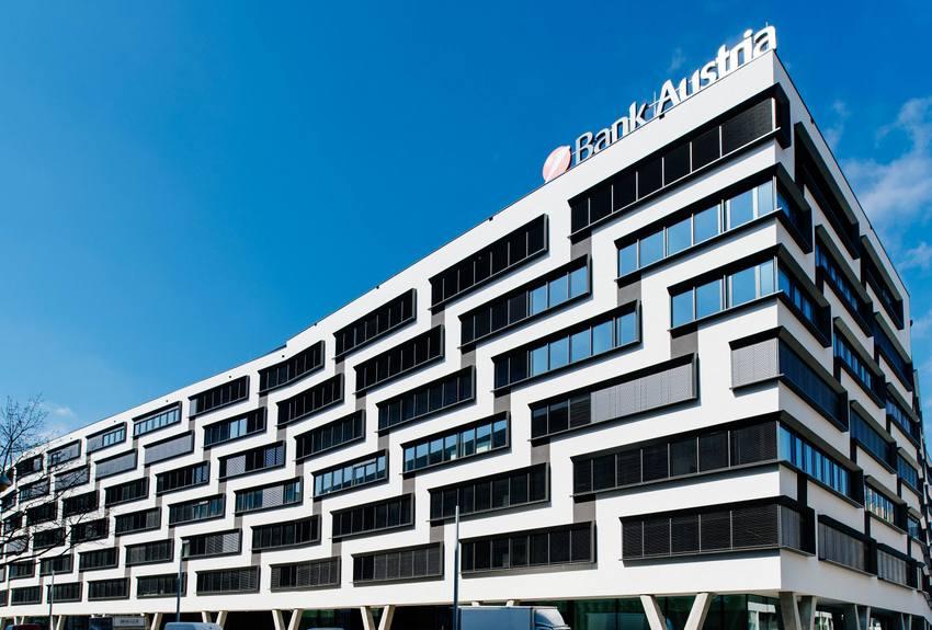Der Austria Campus, Teilansicht außen, Bild (c) Bank Austria / Lukas Bezila