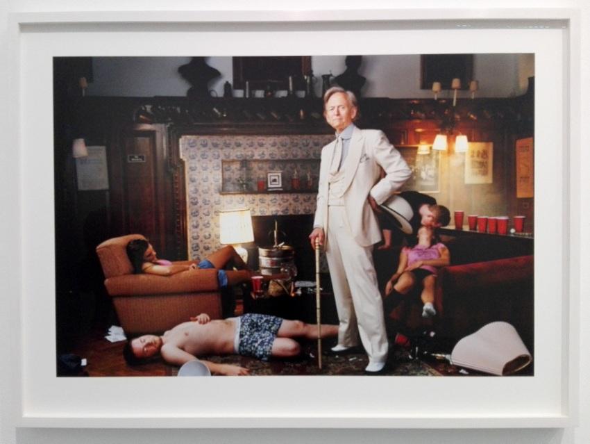 Tom Wolfe, aus der Serie 'Portraits' von Martin Schoeller: mein Favorit!, Bild (c) Claudia Busser - kekinwien.at