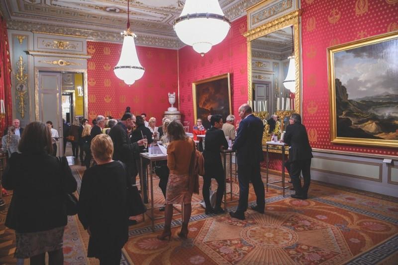 In den Prunkräumen der Wiener Albertina werden der Sozialpreis der UniCredit Bank Austria und die erfolgreichen Crowd Funding Kampagnen des heurigen Jahres mit einem großen Fest gefeiert, Bild © Oreste Schaller