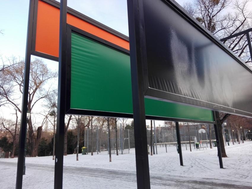 Detail: Planen statt Stoffbahnen, Judd, Stadtpark, Bild (c) kekinwien.at