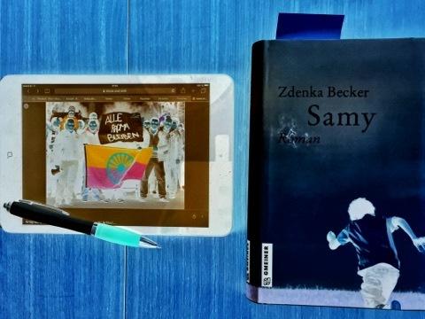 Samy, ein Roman von Z. Becker; Bild (c) Alexandra Wögerbauer -Flicker - kekinwien.at