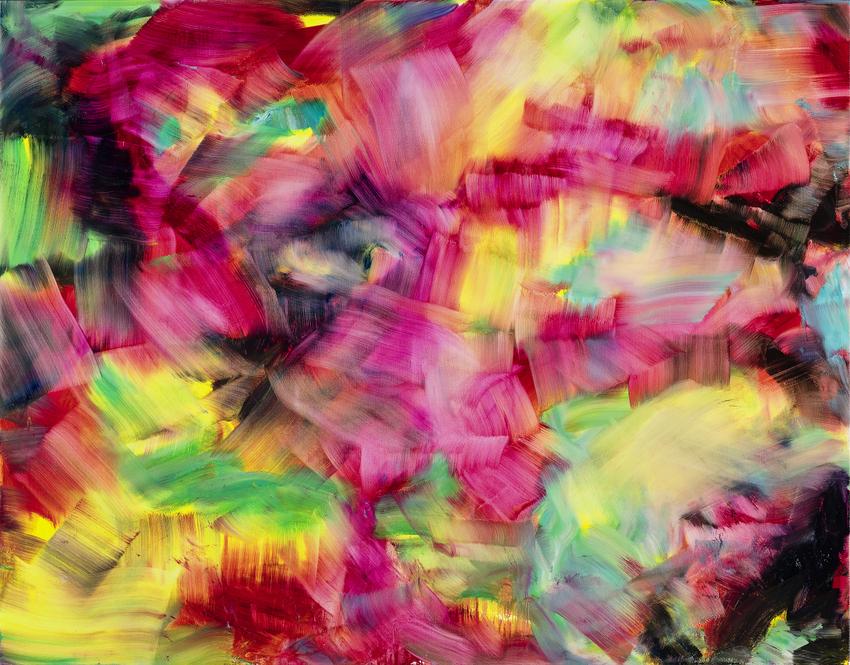 Herbert Brandl, Ohne Titel, Bild (c) Reinisch Contemporary