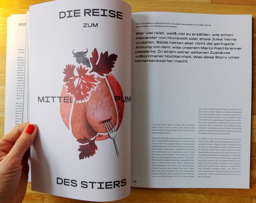 Einblick in das Schluck Magazin, Beitrag von Marco Kalchbrenner, Bild (c) kekinwien.at