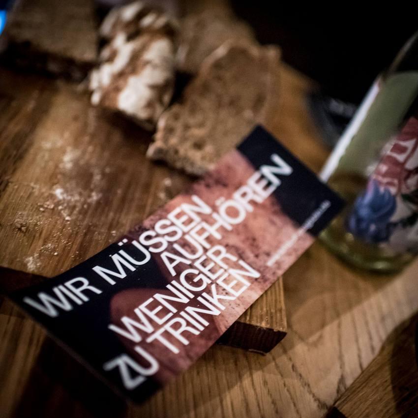 Schluck Magazin, Leitspruch zur aktuellen Ausgabe ;-), Bild (c) Christopher Glanzl - wineabventures.de