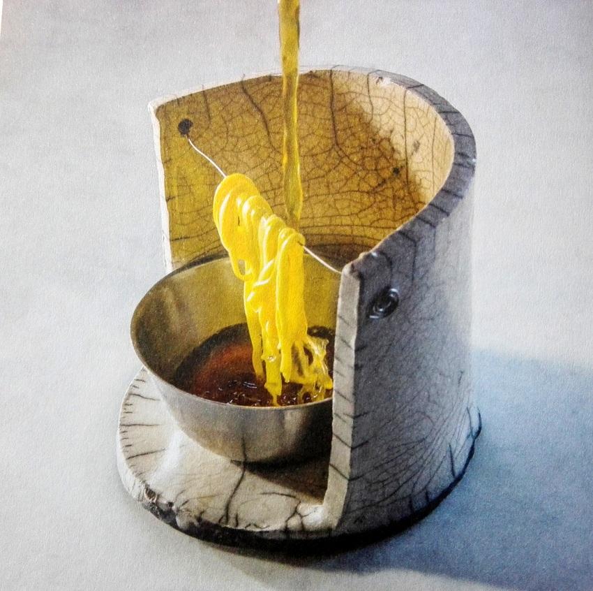 Bild vom Bild im Schluck Magazin, Foto von Richard Haught, Pâtes disparaissantes, Marc Veyrant, Col de la Croix Fry, 74230 Manigod, Frankreich - kekinwien.at