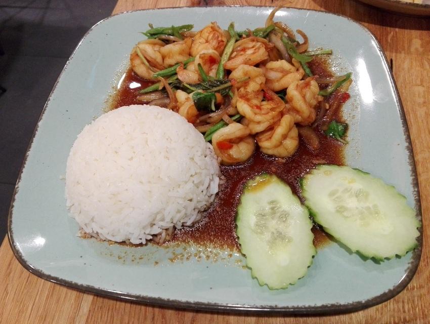 Shrimps, Ka Prao Gung, all Reis, Bild (c) Claudia Busser - kekinwien.at