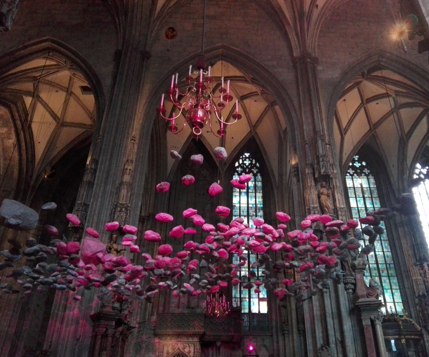 Sky of Stones im Wiener Stepahnsdom, Bild (c) Claudia Busser - kekinwien,at