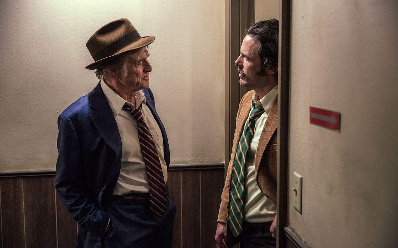 Ein Gauner und Gentleman, Robert Redford und Casey Affleck, Filmstill, Bild (c) Thimfilm