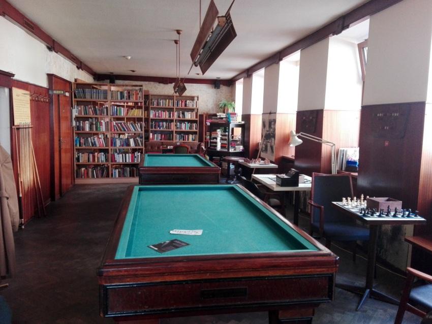 Bibliothek, Galerie, Carambol, Schach, Konzerte, Kulturcafe Max, Bild (c) kekinwien.at