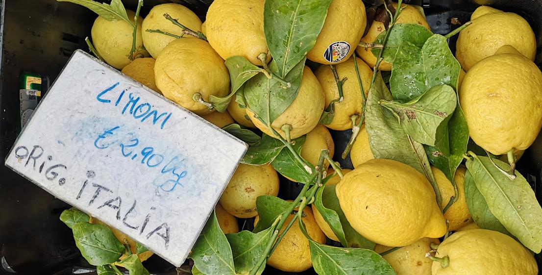 frisch vom Zitronenbaum: Limoni, Bild (c) Mischa Reska - kekinwien.at