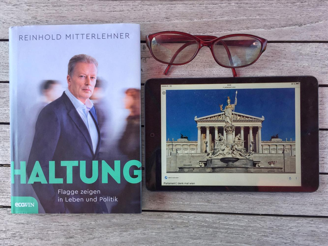 Haltung, Reinhold Mitterlehner , Bild (c) kekinwien.at