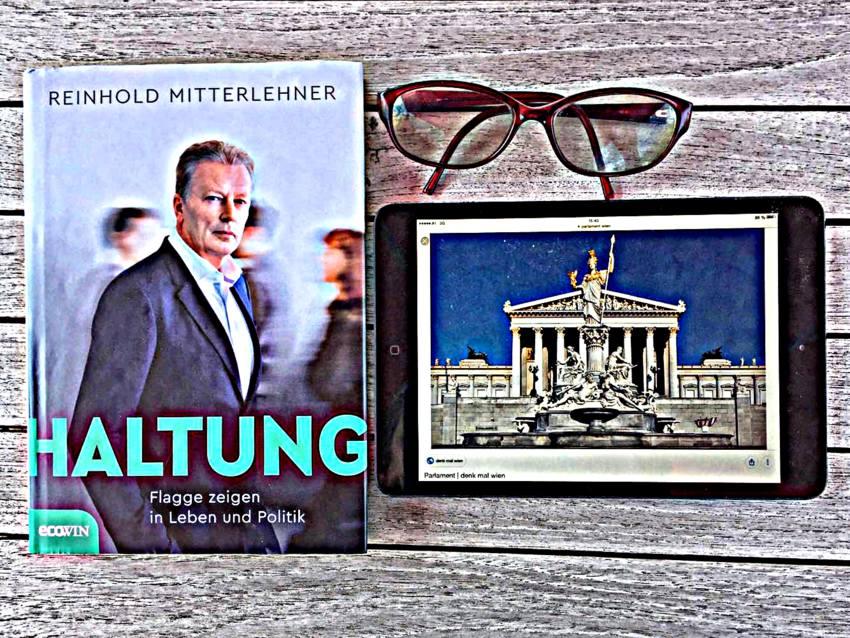 Mitterlehner, Haltung, Kollage zum Buch (c) Alexandra Wögerbauer-Flicker - kekinwien.at