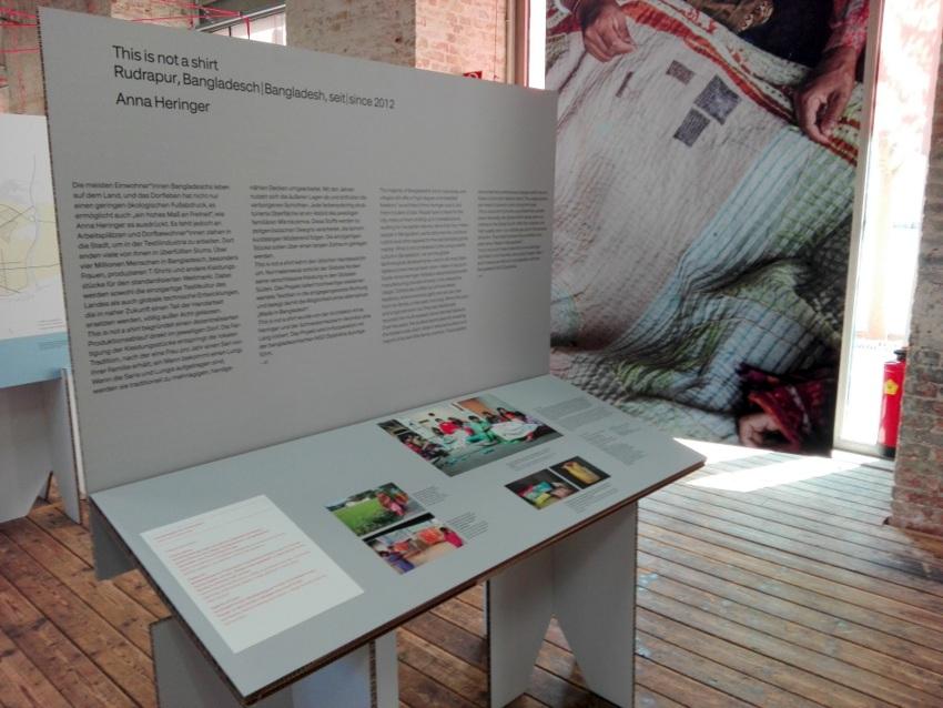 Critical Care, Ausstellungsdesign, Projekt: this is not a shirt, Bild (c) Claudia Busser - kekinwien.at