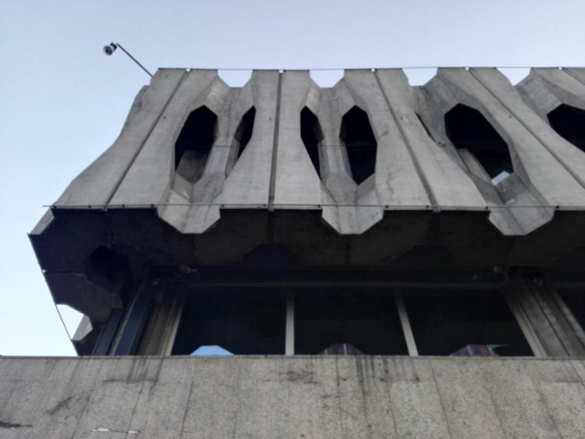 Brutalismus, Detail, Madrid, Bild (c) Claudia Busser - kekinwien.at