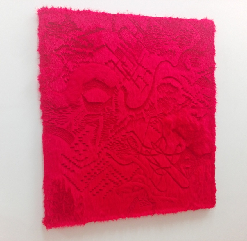 """Ina Aloisia Ebenberger,""""Rot"""", Female, Galerie Leeb, Bild (c) Claudia Busser - kekinwien.at"""