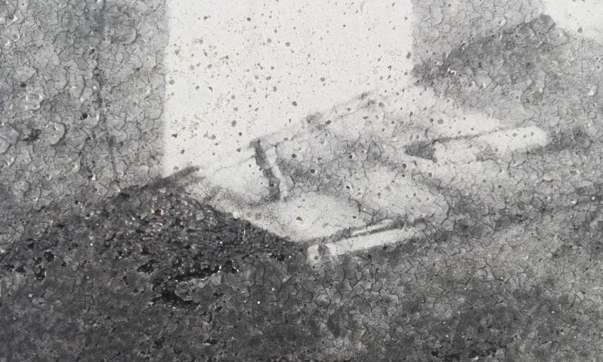 Birgit Graschopf, Concrete #9, Galerie Leeb, Aussetllung Female, Bild (c) Claudia Busser - kekinwien.at