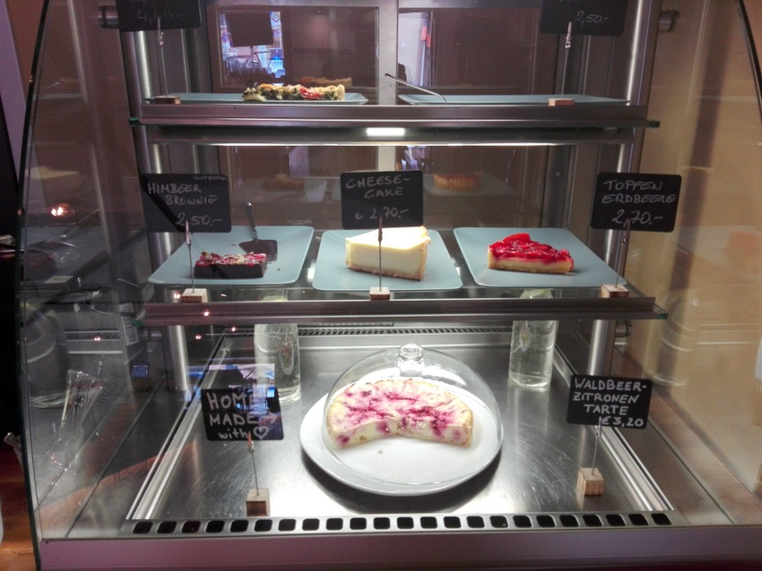 Kuchen zum Kaffee im DAS KAFA, Bild (c) Claudia Busser - kekinwien.at
