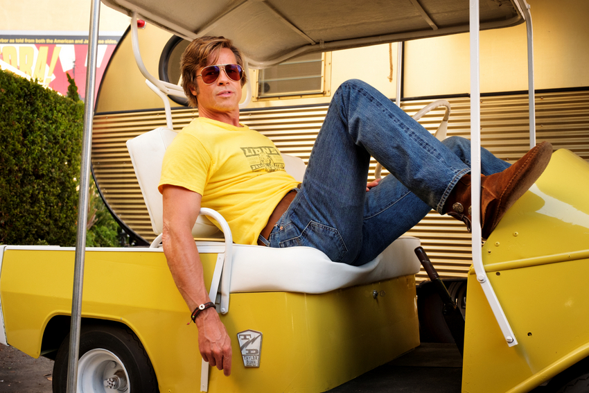 Brad Pitt in Once Upon a Time in Hollywood, Bild © 2019 Sony Pictures Entertainment Deutschland GmbH