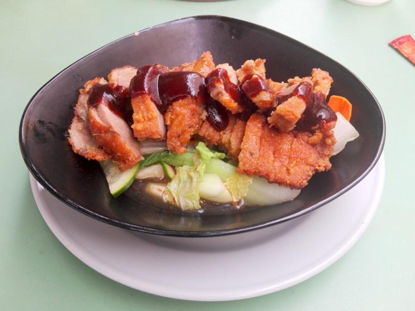 Ente mit scharfem Gemüse, Nguyen's, neu im Wiener Karmeliterviertel, Bild (c) Claudia Busser - kekinwien.at